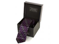 Мужской узкий шелковый галстук eterno (ЭТЕРНО) eg615