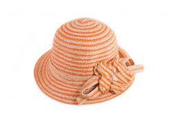 женская соломянная шляпа eterno eh-64-orange