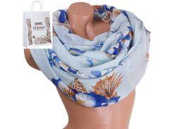 Женский хлопковый шарф 180 на 86 см  eterno (ЭТЕРНО) es0908-9-2