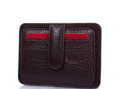 Мужская кожаная кредитница с отделениями для документов grass (ГРАСС) shi550-9