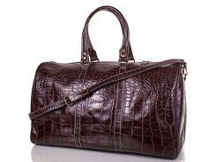 кожаная мужская дорожная сумка desisan (десисан) shi504-d-10kr