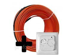 Теплый пол Volterm HR12 двужильный кабель, 320W, 2,1-2,7 м2(HR12 320)