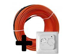 Теплый пол Volterm HR18 двужильный кабель, 400W, 2,2-2,7 м2(HR18 400)