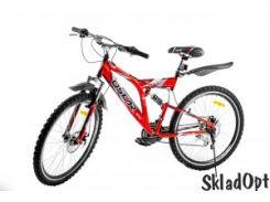 Велосипед горный Оскар 26SY-01 SHIMANO SYSTEM красный