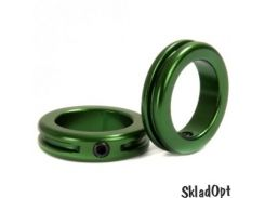 Замок на грипсы STOLEN Lock Sand-blasted Green