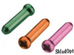 Законцовка троса JAGWIRE CHA075 - диам. 1.8мм и тоньше Cash/Tango/Pink (30шт./один цвет)