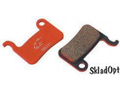 Колодки тормозные диск JAGWIRE Red Mountain Sport DCA027 (2 шт) - Shimano XTR