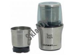 Кофемолка мет + чопер 200W FIRST 5486