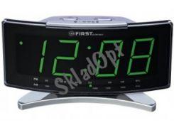 Радіоприймач з кварцевим годинником FIRST 2416