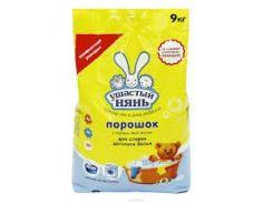Стиральный Порошок Ушастый нянь 9,0 кг для детского белья