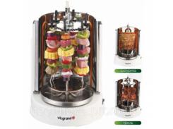 Шашлычница электрич. 3 в 1 (шашлык, гриль, шаурма); 6 шампуров, 1400 Вт V1406G ViLgrand