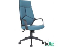 Кресло AMF Urban HB черный, тк.синий 515406