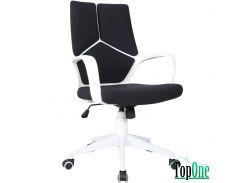 Кресло AMF Urban LB белый, тк.черный 515407