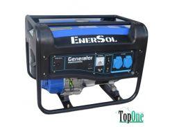 Бензиновый генератор EnerSol однофазный ,двигатель EnerSol ES-200G, SG-3(B)