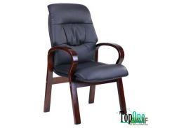 Кресло AMF Лондон CF, кожзам черный (625-D Black PU+PVC) 31184