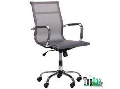 Кресло AMF Slim Net LB (XH-633B) серый 521220