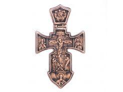 """Православный крест """"Распятие. Ангел Хранитель"""""""