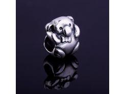 Мишка (серебро,чернение)
