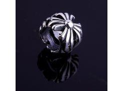 Цветочек (серебро, чернение)