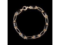 Эксклюзивный женский браслет (эмаль)