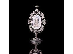 """Серебряная икона """"Иисус"""""""