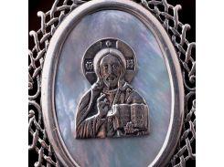 """Икона """"Иисус"""" с перламутром"""