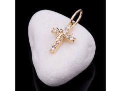 Детский золотой православный крестик