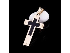 Эксклюзивный золотой крестик
