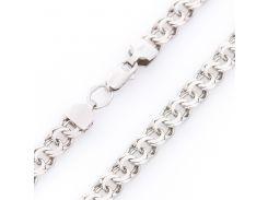 Серебряная цепочка Плетение Гарибальди 8 мм