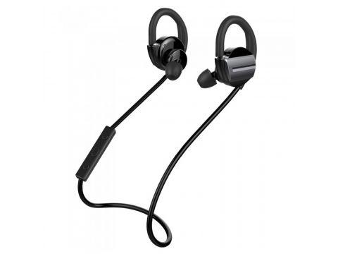 Влагоустойчивая стерео bluetooth гарнитура ZEALOT H3 черная беспроводная спортивная с микрофоном mp3 player
