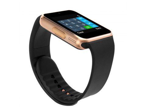 ϞСмарт-часы UWatch GT08 Gold Bluetooth умный телефон дистанционное управление камера блютуз 3.0 Киев