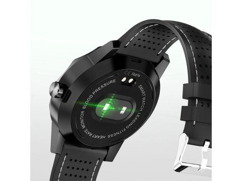 "Смарт-часы Colmi Sky 1 Black 1.3"" дисплей шагомер Bluetooth пульсометр"