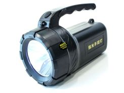 Фонарь переносной светодиодный E-SMART KF туристический поисковой (Черный)