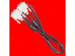 Качественный кабель Lesko DVI-DVI 1.8m для подключения монитора качественный эластичный универсальный