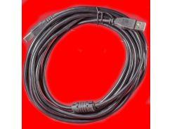 Универсальный кабель Lesko USB 2.0 AM / BM 10 m для подключения к компьютеру принтера  прочный надёжный