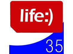 ☎Стартовые пакеты Life 40 звонки интернет 3G для мобильных телефонов планшетов смартфонов