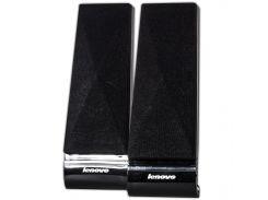 Универсальные колонки LENOVO L1520 черные для компьютера ноутбука USB 2.0 jack 3.5 мультимедийные музыкальные