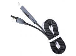 ☀Кабель Lesko microUSB-Lightning/USB 2.0 Черный для компьютера смартфона iphone