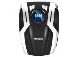 ➜Автокомпрессор RUNDONG AC-980 универсальный автомобильный для накачивания колес машины с экраном