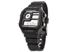 ✧Электронные часы SKMEI 1299 Black светодиодные спортивные для мужчин наручные