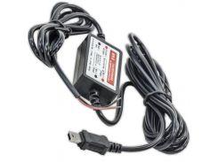 ✓Адаптер Lesko 12V-5V внутренний MiniUSB Прямой для смартфона навигатора зарядка многофункциональная