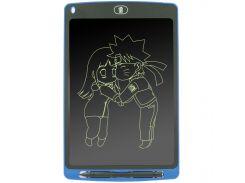 """✪Планшет для рисования Lesko LCD Writing Tablet 10"""" Blue графический с стилусом в комплекте"""