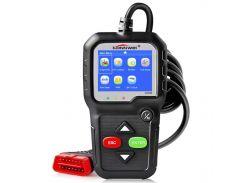 "➨Adapter сканер KONNWEI KW680 цветной экран 2.4"" XP WIN7 WIN8 WIN10 определение напряжения батареи автосканер"