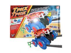 ✥Трек Trix Trux 1 car детская игра канатная машина различные трюки вращение преодоление препятствий