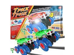 ✕Трек Trix Trux 2 car детская электрическая трюк-машинка восхождение на гору канатная дорога препятствия