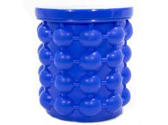 ✦Форма Ice Cube Maker Genie ведро для заморозки льда силиконовое для охлаждения напитков