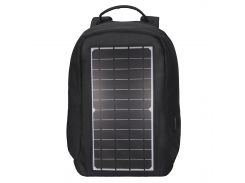 ☝Рюкзак Eceen ECE-681S Black с солнечной панелью зарядка USB-портом дышащий компьютерный рюкзак антивор