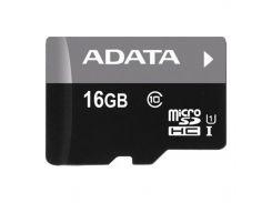 ★Карта памяти Adata MicroSDHC 16GB UHS-I Class 10 (card only) для хранения данных