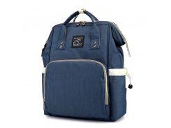 ➨Сумка-рюкзак Maikunitu Mummy Bag Blue мультифункциональная зарядная сумка с USB органайзер для мам