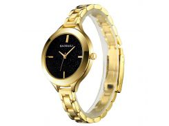 ➔Часы BAOSAILI BSL1049 Gold элегантные часы для девушек Баосаили кварцевый механизм наручные